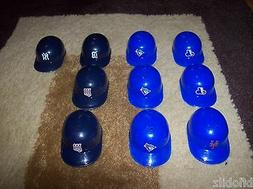 LOT 10 Replica MLB Mini Helmets NEW Yankees Expos Tigers Twi