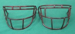 Lot Of 2 Schutt Carbon Steel Adult Football Helmet Facemask