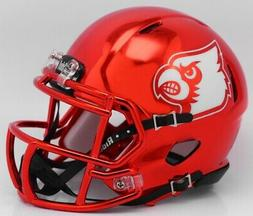 Louisville Cardinals Alternate Red Chrome NCAA Mini Speed Fo