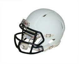 Matte White with Black Mask Blank Riddell Revolution SPEED M