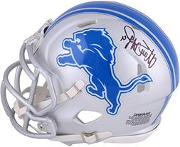 Matthew Stafford Detroit Lions Autographed Riddell Speed Min