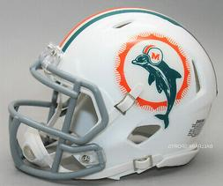 miami dolphins 1966 tribute speed mini helmet