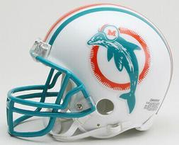 MIAMI DOLPHINS 1980-1996 THROWBACK RIDDELL NFL FOOTBALL MINI