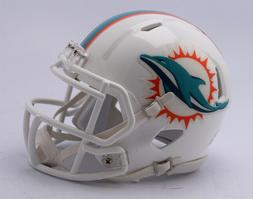 Miami Dolphins 2018 Logo Riddell Revolution Speed Mini Footb