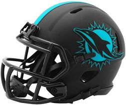 Miami Dolphins 2020 Black Revolution Speed Mini Football Hel