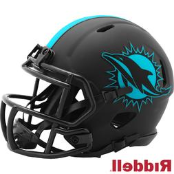 Miami Dolphins Alt Eclipse Riddell Speed Mini Helmet - New i