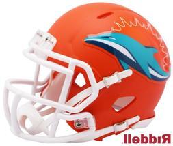 Riddell Miami Dolphins AMP Alternate Speed Mini Football Hel