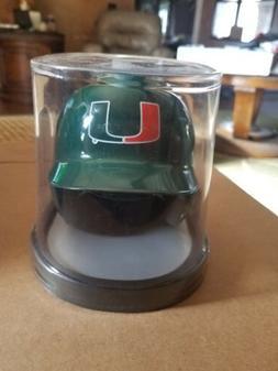 MIAMI HURRICANE BASEBALL SCHUTT Mini Helmet NCAA. NIB
