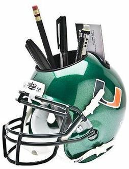Miami Hurricanes  NCAA Football Schutt Mini Helmet Desk Cadd