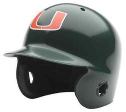 MIAMI HURRICANES NCAA Schutt MINI Baseball Batter's Helmet