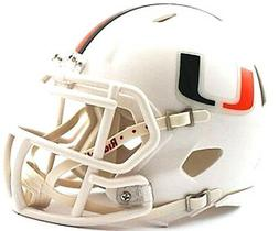 Miami Hurricanes Riddell NCAA College Football Team Speed Mi