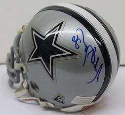 Michael Downs Signed Mini Helmet Autographed Cowboys 42275s1
