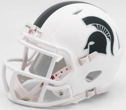 MICHIGAN STATE SPARTANS 2017 WHITE RIDDELL SPEED FOOTBALL MI
