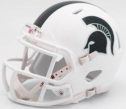 Michigan State Spartans Alternate White Riddell Speed Mini F