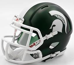 Michigan State Spartans Riddell Speed Mini Replica Satin Foo