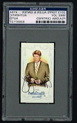 Mike Joy 2013 Topps Allen & Ginter MINI signed autograph aut