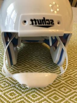 Schutt Mini Blank Collectible Football Helmet White New Souv