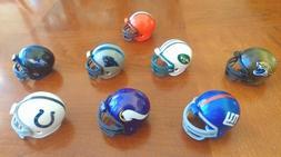 """Riddell Mini Football Helmets 2"""" x 1.5"""" NFL Fan Sports Souve"""