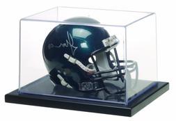 MCS 8x6x5 Inch 1/4 Mini Helmet Display Case, Black