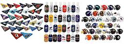 Mini Nfl Football Helmets, Table TOP Footballs, and Dog Tags