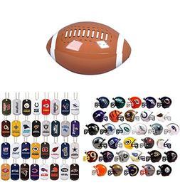 Mini Nfl Football Helmets and Dog Tags Complete Sets of 32 E