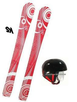 Yuki Mini Skis Kids Youth+ Burton Helmet+ k2 Dcal skiboards