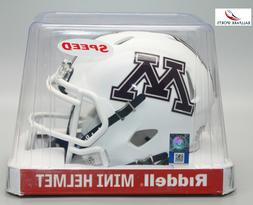 minnesota golden gophers speed mini helmet
