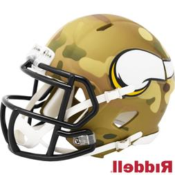 Minnesota Vikings Camo Alternate Riddell Speed Mini Helmet N