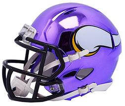 Minnesota Vikings Riddell Speed Mini Helmet - 2018 Chrome Al