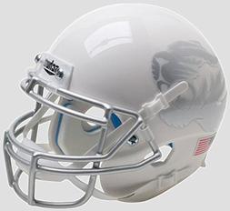 NCAA Missouri Tigers Mini Authentic XP Football Helmet, Whit