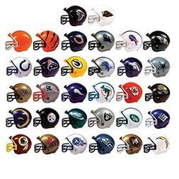 Mix of 10 Random NFL Mini Football Helmets with Logo and Mas