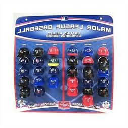 MLB 8oz Mini Baseball Helmet Ice Cream Snack Bowls 24 Pack A