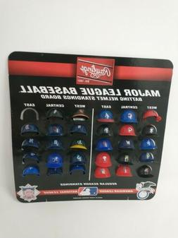 "MLB Official MLB 1.5"" Mini Baseball Batting Helmet Standings"