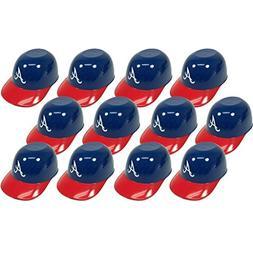 MLB Mini Batting Helmet Ice Cream Sundae/Snack Bowls, Braves