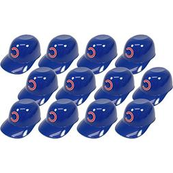 MLB Mini Batting Helmet Ice Cream Sundae/ Snack Bowls, Cubs