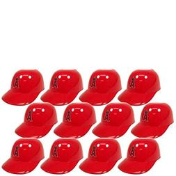 MLB Mini Batting Helmet Ice Cream Sundae/ Snack Bowls, Angel