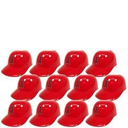 MLB Mini Batting Helmet Ice Cream Sundae/ Snack Bowls, Angel