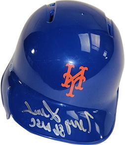 Steiner Sports MLB New York Mets Terry Leach Signed Mini Bat