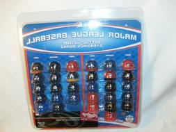 "MLB Official 1.5"" Mini Baseball Batting Helmet Standings Boa"
