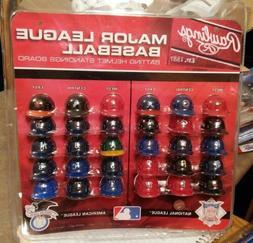"""MLB Official MLB 1.5"""" Mini Baseball Batting Helmet Standings"""