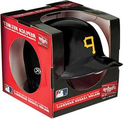 Rawlings MLB Pittsburgh Pirates Mini Replica Helmet, Black