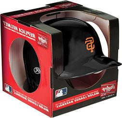 Rawlings MLB San Francisco Giants Mini Replica Helmet, Black