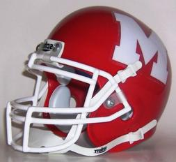 Mooseheart Red Ramblers High School Mini Helmet - Mooseheart