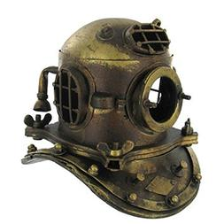 NAUTICAL DECOR Scuba Mini Diving Divers Helmet US Navy Mark