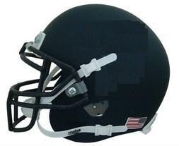Navy Blue Blank Schutt Mini Football Helmet