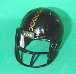 NAVY Mini pocket pro football helmet Custome Made NAVY Midsh