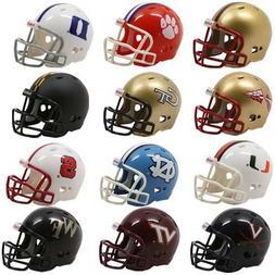 NCAA ACC Conference Pocket Pro Mini Football Helmet Set