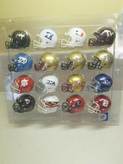 NCAA ACC Conference Pocket Pro Speed Revolution Mini Helmets