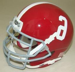 Schutt NCAA Mini Authentic XP Football Helmet, Alabama Crims