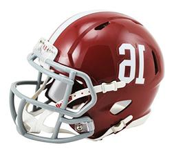 NCAA Alabama Crimson Tide Speed Mini Replica Helmet, Red, Sm